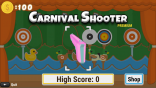 Carnival Shooter arcade game on Roku