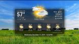 Weather Screensaver on Roku