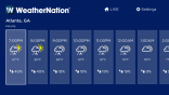 WeatherNation on Roku