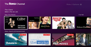 New on The Roku Channel in October 2019