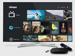 Vimeo adds new features to Roku channel