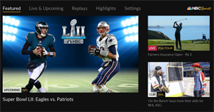 Watch Superbowl LII for free on Roku