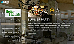 Summer Party with Better Homes and Gardens on Portico